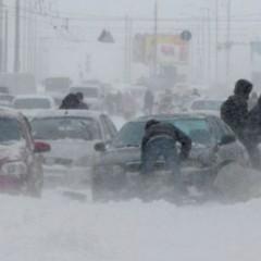 Киян просять пересісти на громадський транспорт під час снігопадів