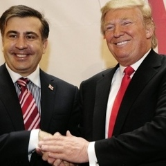 Саакашвілі похвалився своїм знайомством із Трампом