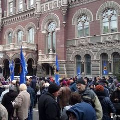 Нардепу Рабіновичу і мітингувальникам під НБУ вдалося прискорити процес допомоги вкладникам банку «Михайлівський» - експерт