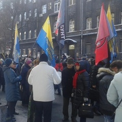 Під Нацбанком люди на мітингу стояли за гроші,- місія ОБСЄ