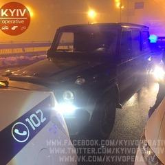У столиці п'яний депутат влаштував перегони та ДТП з трьома авто (відео)