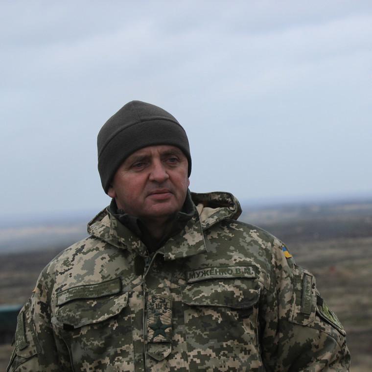 Віктор Муженко побував на передовій в зоні проведення АТО на Донбасі