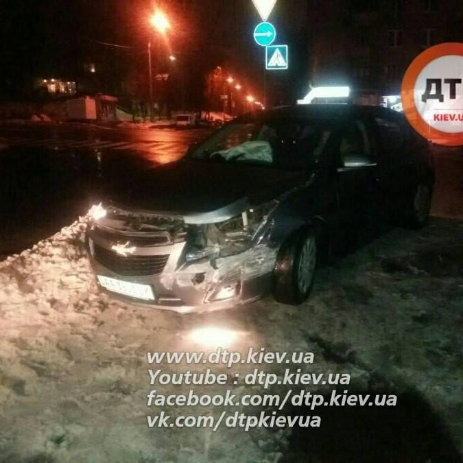 У Києві п'яний водій знайшов скарб, коли тікав від поліції