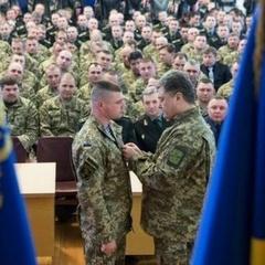 Петро Порошенко відзначив державними нагородами військових ЗСУ