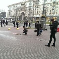 У столиці біля КМДА прогримів вибух (фото)