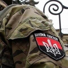 На Луганщині напали на штаб «Правого сектору»