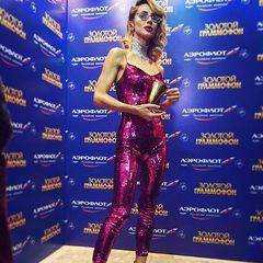 Світлана Лобода отримала в Москві дві премії