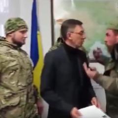 З'явилося відео погрому в будинку Одеської митниці