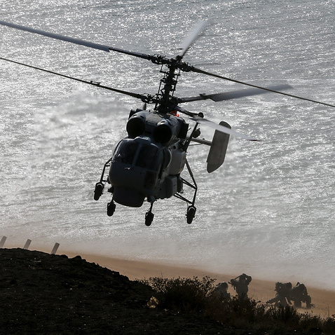 Японія піднімала винищувачі через наближення вертольота РФ