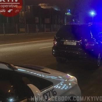 Київська поліція влаштувала гонитву за п'яними «СБУшниками» (фото)