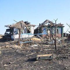 Бійці АТО показали результати обстрілів Зайцево бойовиками (відео)