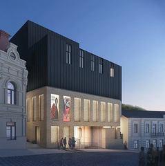 Архітектори показали, як виглядатиме театр на Андріївському узвозі (фото)