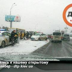 У Києві сталася масштабна ДТП із гонитвою та участю поліції (фото)