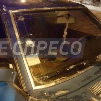 У Києві зі стріляниною затримали п'яного водія