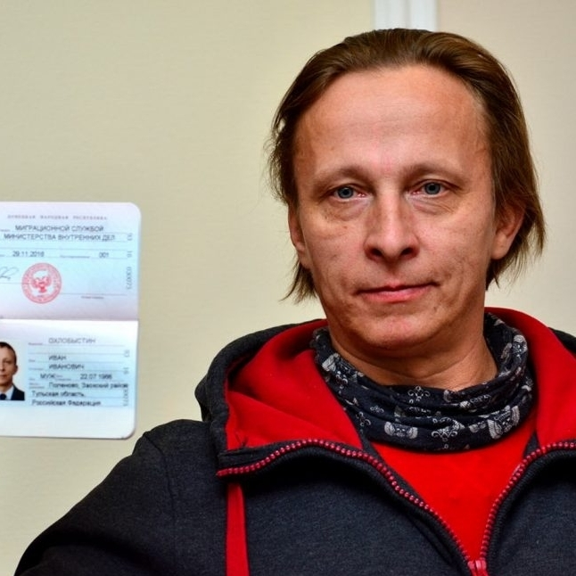 Охлобистін отримав бажаний паспорт «ДНР»