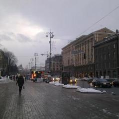 Увага водіїв! Центр Києва перекритий