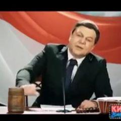 """Коміки """"Кварталу 95"""" підірвали мережу пародією на прес-конференцію Януковича (відео)"""
