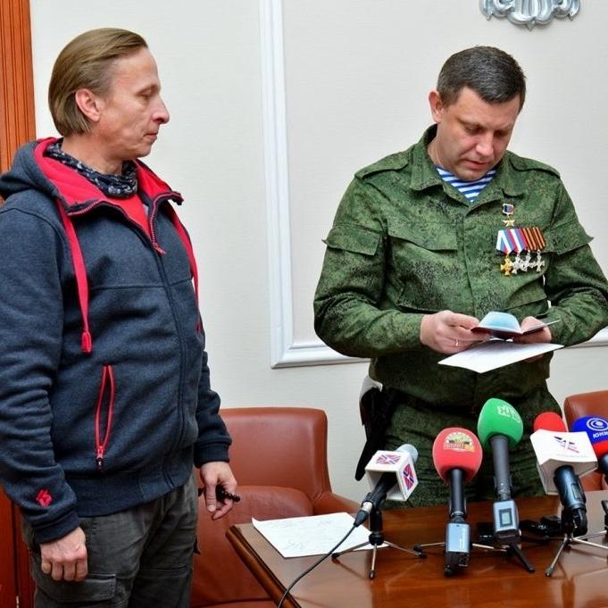 СБУ звинуватила Охлобистіна у тероризмі