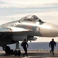 У Кремлі прокоментували інцидент з винищувачем на «Адміралі Кузнецові»