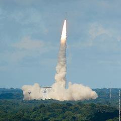 У Франції відбувся успішний запуск ракети-носія «Вега» з українським двигуном (відео)