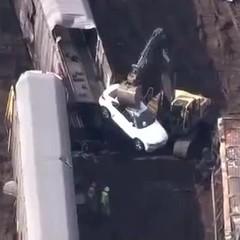 У США зійшов з рейок поїзд зі 120 автівками BMW (відео)