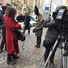 Французька зірка Ванесса Параді прогулялася вулицями Києва