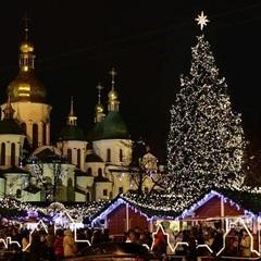 На вихідних Київ починає новорічно-різдвяні святкування  (список локацій)