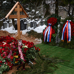 Убитий російський посол Андрій Карлов похований в Москві