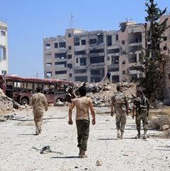 В Алеппо відновилися авіаудари
