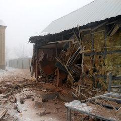 Ситуація на Донбасі загострилась: опубліковані фото обстріляної церкви
