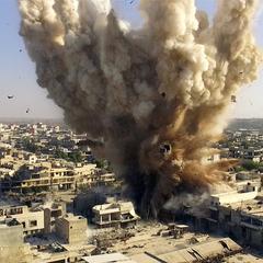 Вибух на сході Алеппо забрав життя двох людей