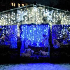 Зимова казка. У «Софії Київській» відкрився різдвяний парк (фото)