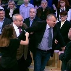 Українського політолога вигнали зі студії під час програми на КремльТВ (відео)