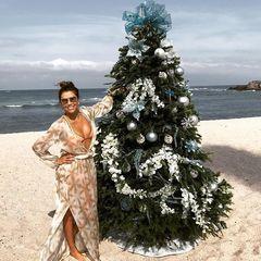 Єва Лонгорія в бікіні станцювала запальний танець на пляжі (відео)