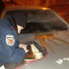 На Одещині підпалили авто адвоката, який веде справу прокурора