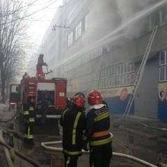 Пожежа на львівському заводі «Електрон»: (фото, відео)