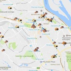 Слідкуйте за снігоприбиральною технікою у Києві: з'явилася онлайн-карта
