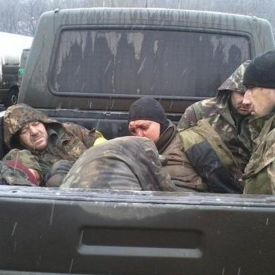 Волонтери показали терористів, які розстрілювали українських військових (фото, відео 18+)