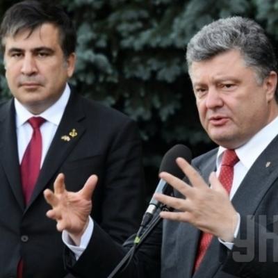 Порошенко і Саакашвілі обмінялися «люб'язностями» на адресу один одного