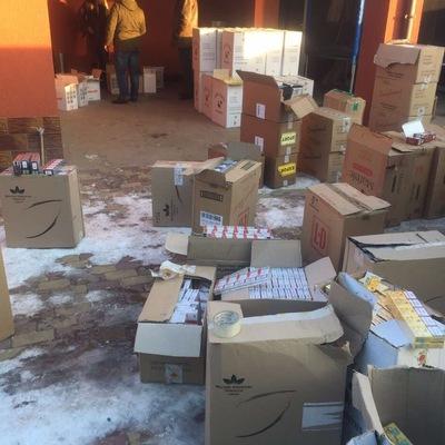 «На гарячому»: в Закарпатті податкова міліція впіймала контрабандистів цигарок