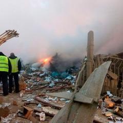 Турецький літак звалився на дачі під Бішкеком: перші фото з місця подій