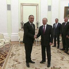 Новий президент Молдови попросив у Путіна вудку