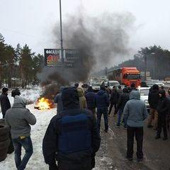 У поліції прокоментували блокування в'їздів до Києва