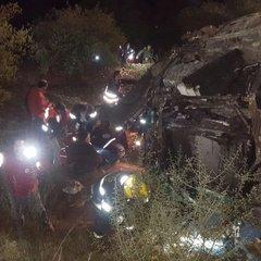 В Ізраїлі автобус зірвався у 70-метрову прірву, є загиблі