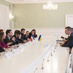 Віталій Кличко зустрівся з держсекретарем МЗС Франції
