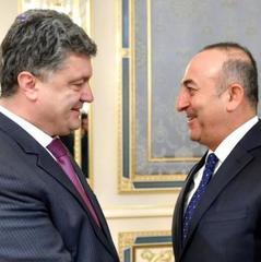 Порошенко і Чавушоглу обговорили створення ЗВТ з Туреччиною