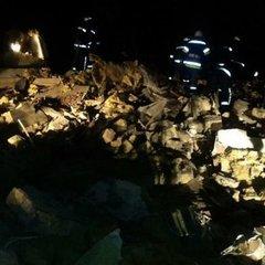 Внаслідок вибуху на Одещині від будинку залишилось одне каміння