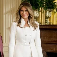 Меланія Трамп вперше офіційно відвідала Білий дім (фото)