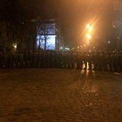 Біля Адміністрації президента посилили охорону (фото)
