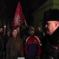 Біля консульства України в Санкт-Петербурзі із сутичками відбувся вечір пам'яті Героїв Небесної Сотні (відео)